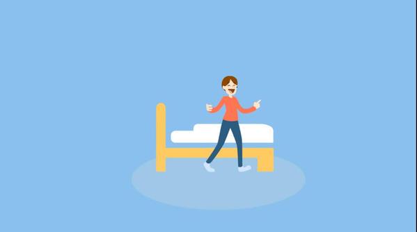 استخدام الجوال قبل النوم