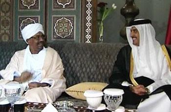 البشير و قطر