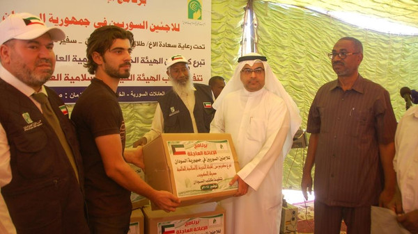 الكويت السودان سوريا دعم