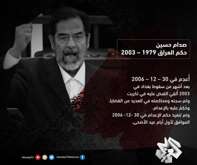 حكم صدام حسين