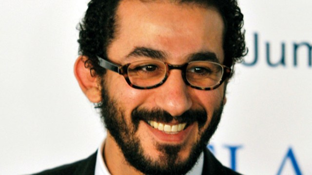 Egyptian actor Ahmed Helmy arrives for the grand opening of Atlantis, The Palm in Dubai November 20, 2008. The  $1.5 billion mega resort with 1,539 rooms is the first resort to open on Dubai's man-made Palm Jumeirah island. REUTERS/Jumana El Heloueh (UNITED ARAB EMIRATES)