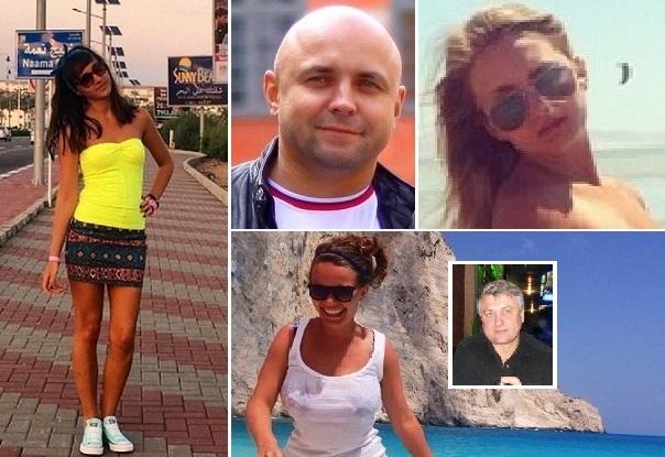 ضحايا الطائرة الروسية