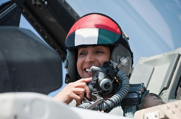 كابتن مريم المنصوري