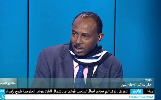 الكاتب الصحفي السوداني، محمد الآسباط