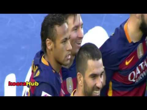 بالفيديو..ميسي يقود برشلونة لسحق غرناطة برباعية