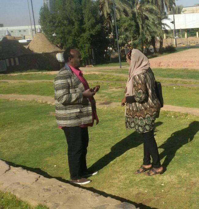 """الممثلة السودانية مشاعر سيف الدين تبدأ تصوير سلسلة """"البحث عن زوجة"""""""