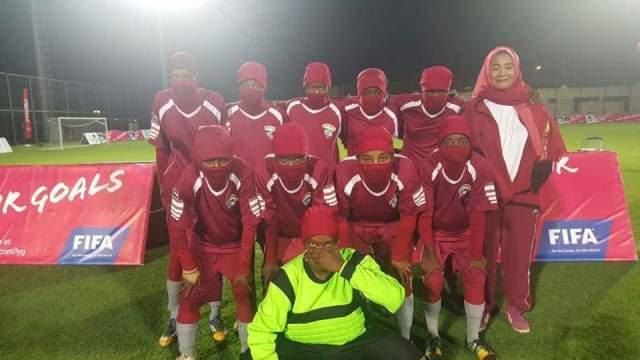 فريق المدفعجية السوداني لكرة القدم للسيدات يمثل السودان للمرة الأول خارجياً