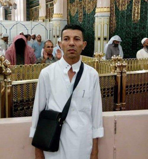 كشف حقيقة صورة رجل مطموس الوجه بالمسجد النبوي