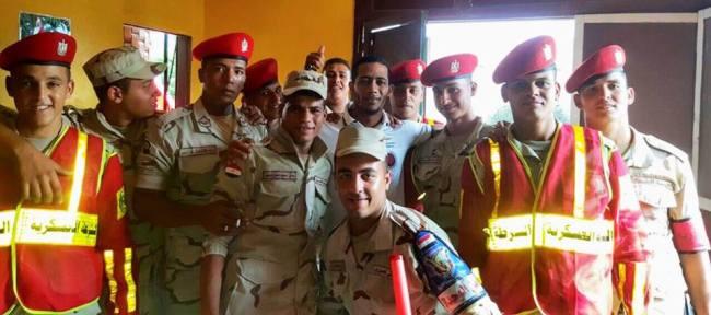 محمد رمضان يقدم أوراقه للالتحاق بالجيش المصري: «أقل واجب تجاه بلدي»