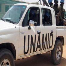 (يوناميد) تطلب وساطة ديبي لإقناع مسلحي دارفور بالسلام
