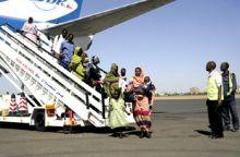 إجلاء السودانيين بالجنوب خلال 72 ساعة .. عبر مطار جوبا