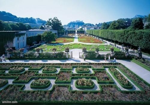 حدائق ميرابل  سالزبورج - النمسا