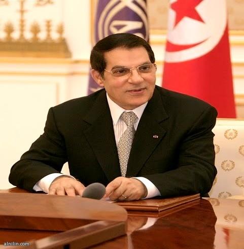 زين العابدين بن علي... الرئيس  التونسي المخلوع