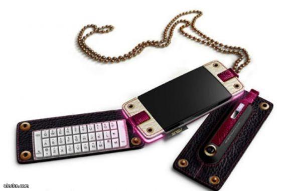 هاتف جوال انيق للفتيات توجد فيه كاميرا ولوحه مفاتيح تستطيع تفكيكه وتركيبه بكل سهولة