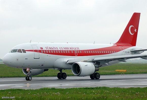 الطائرة الرئاسية التركية