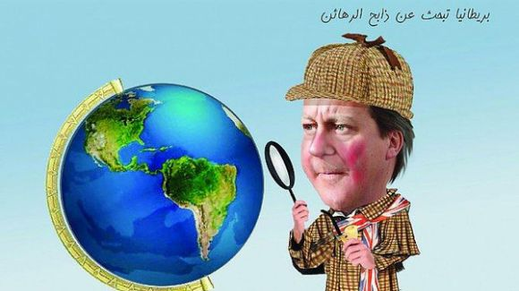 بريطانيا تبحث عن ذابح الرهائن !