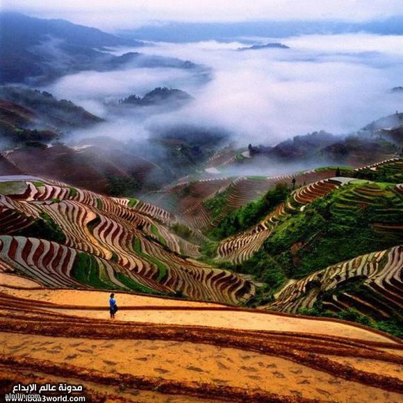 الطبيعة الساحرة في الصين