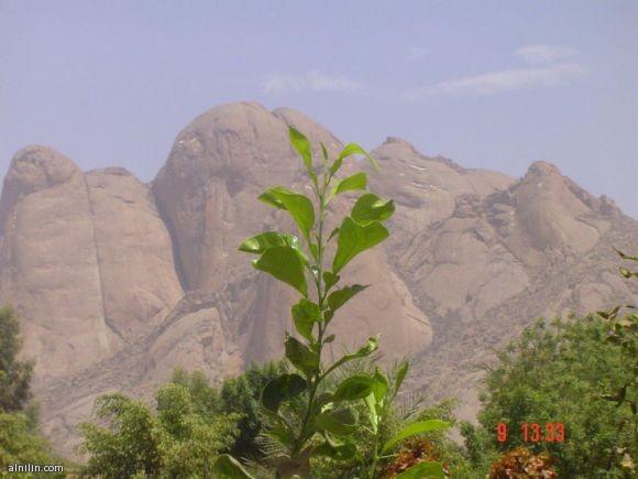 منظر قريب جبال التكا كسلا شرق السودان