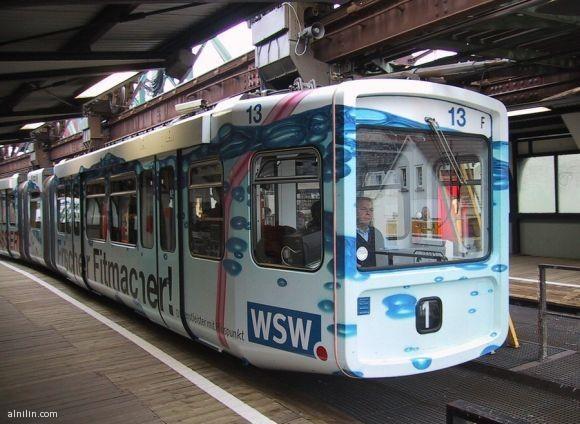 القطار المعلق - المانيا