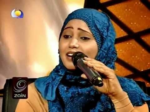 فهيمة عبدالله تغني للرئيس التشادي إدريس دبي فضائيا