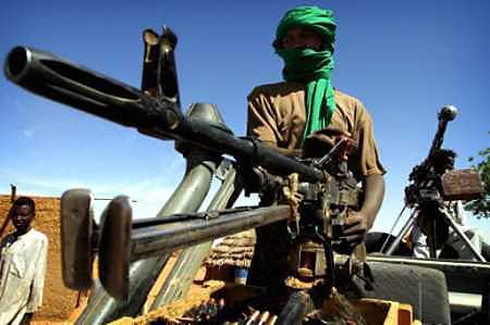 مسلحون مجهولون يحاولون اقتحام سجن بدارفور