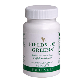 Fields of Greens benefit is balancing blood's pH level