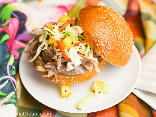 Medium Of Hawaiian Pulled Pork