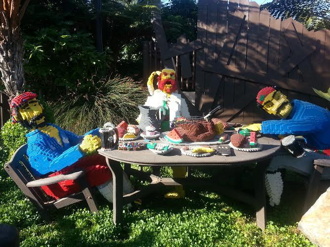 Argh Matey! Legoland, California.