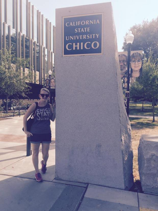 At Chico State.