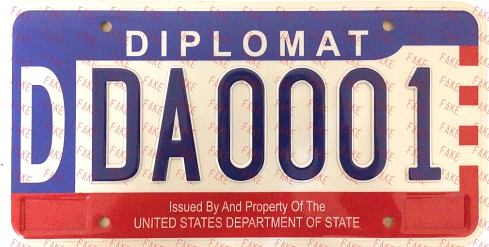 Deceptive And Misleading Plates Us Terrpossgovt