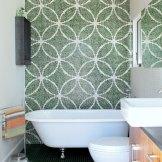 Glass Mosaic Quilt Design