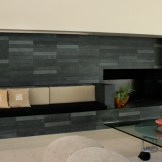 Custom Slate Fireplace