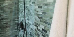 Glass Mosaic Shower