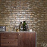 Glass Tile Feature Wall