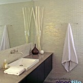 Glass Tile Accent Wall