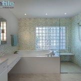 Glass Mosaic Accent Walls