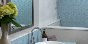Contemporary spa bathroom