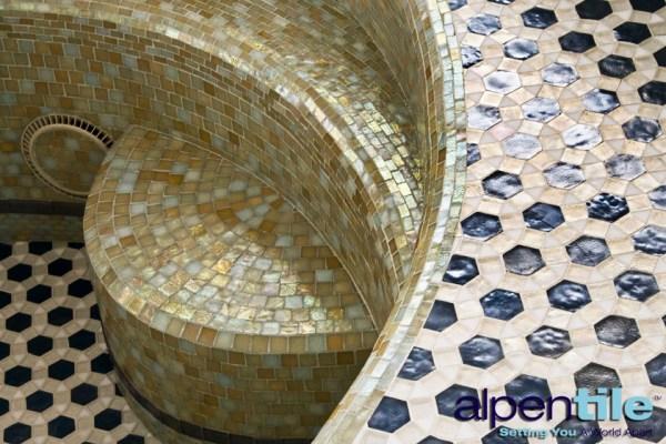 Glass Tile Pool Alpentile 2