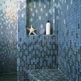 Custom Glass Tile Niche