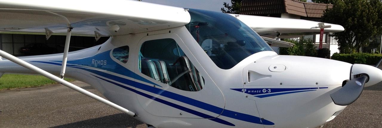 Mein Schnupperflug im Ultraleichtflugzeug Remos G3