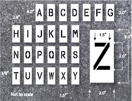 Letter Stencil Alphabet Stencils Large Letter Stencils