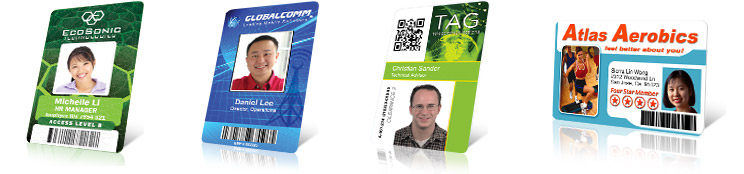 Sample ID Card Designs \u2013 ID Card Design Resources \u2013 Learning Center - sample id cards
