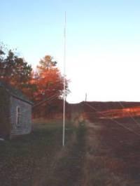 Portable PVC Antenna Mast