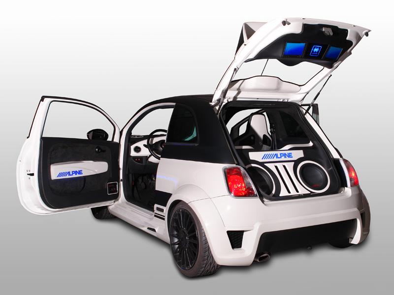 Alpine - Fiat 500 Fun Europe
