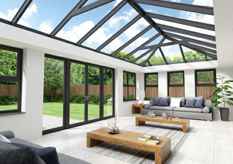 Conservatory Roof Design Software Orangery & glass roof extensions in Yorkshire | Alpine Glass