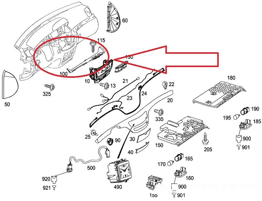 mercedes 300e fuse box diagram