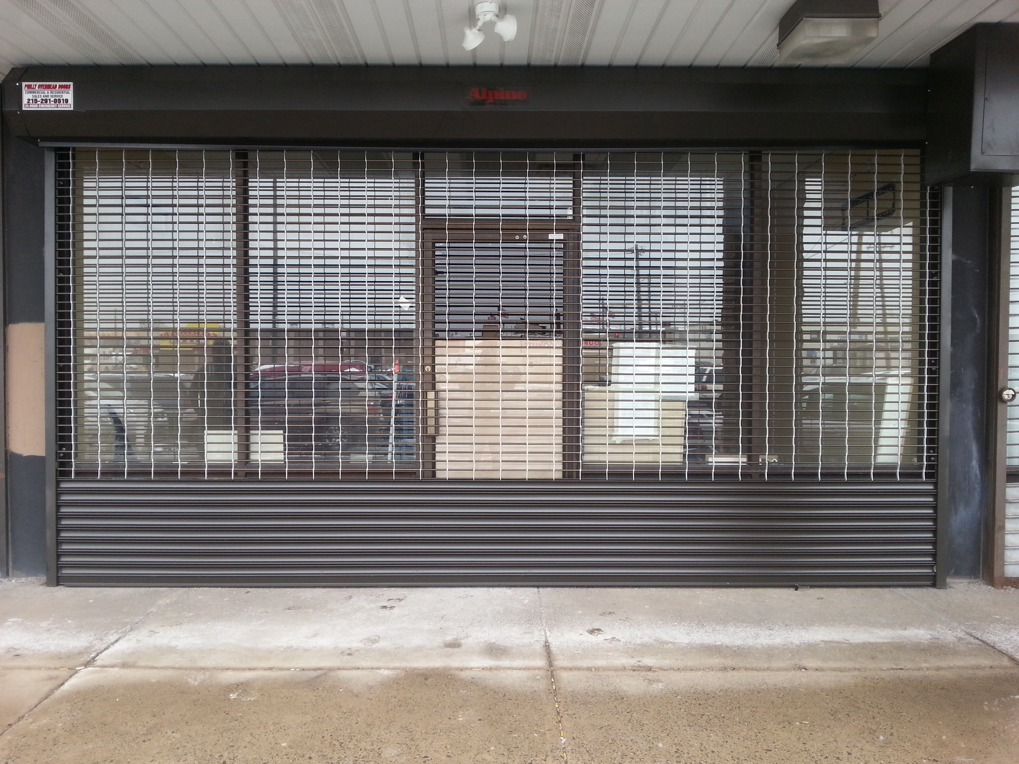 Roll Down Grille : Rolling grilles roll down grille gate
