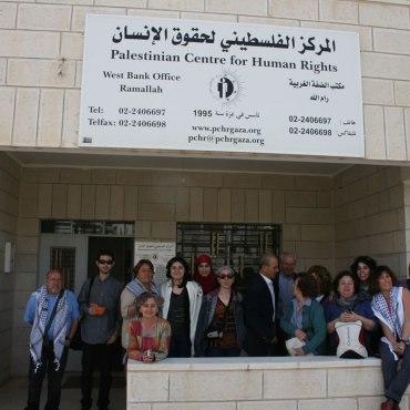 Visita CPDH Ramallah