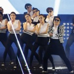 "South Korean rapper Psy performs ""Gentleman"" during his concert ""Happening"" in Seoul"