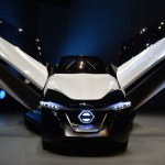 Japanese firms showcase green vehicles